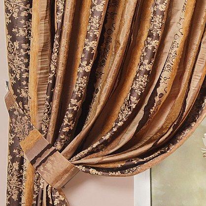 Комплект штор MADRID, коричневый, 170*250 см (bl-01-42-04 ML25), фото 2