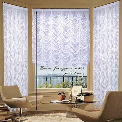 Комплект штор №018 Белый, 600*275 см (rt-018001-275), фото 1