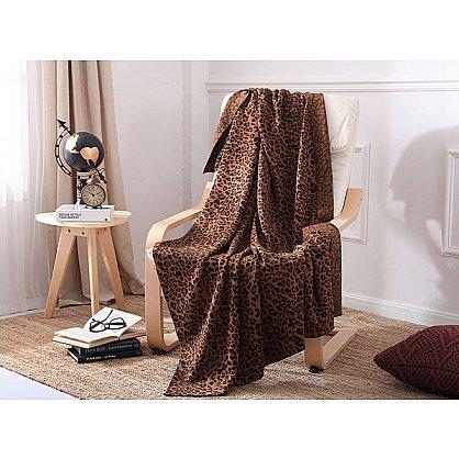 Плед вязанный Tango Leopardo дизайн 01, 140*190 см (tg-3039-01), фото 1