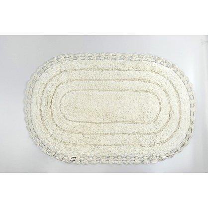 "Коврик для ванной кружевной ""MODALIN YANA"", кремовый, 60x100 см (kr-5025-CHAR004), фото 1"