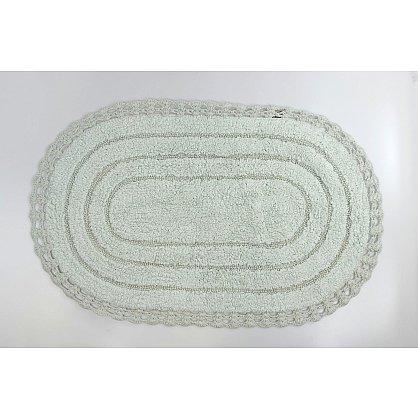 "Коврик для ванной кружевной ""MODALIN YANA"", светло-зеленый, 60x100 см (kr-5025-CHAR007), фото 1"