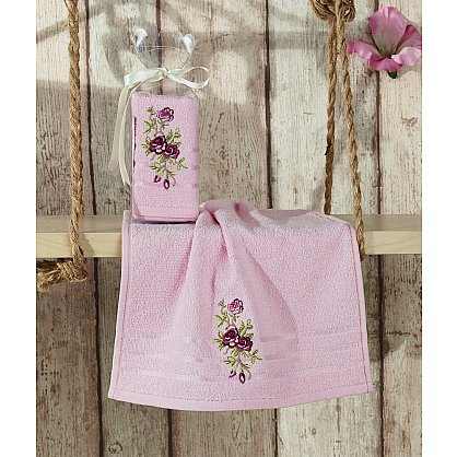 "Салфетка махровая ""KARNA RITA"", розовый, 30*50 см (kr-103013), фото 1"