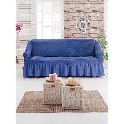 Чехол для дивана JUANNA трехместный, голубой (mt-103493), фото 1