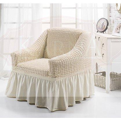 """Чехол для кресла """"BULSAN"""", натурал-A (kr-1797-CHAR011-A), фото 1"""