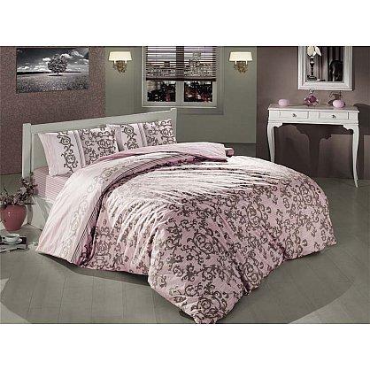 Комплект постельного белья CREAFORCE SUAVE 50х70*2 (2 спальный), розовый-A (kr-253-58-CHAR002-A), фото 1