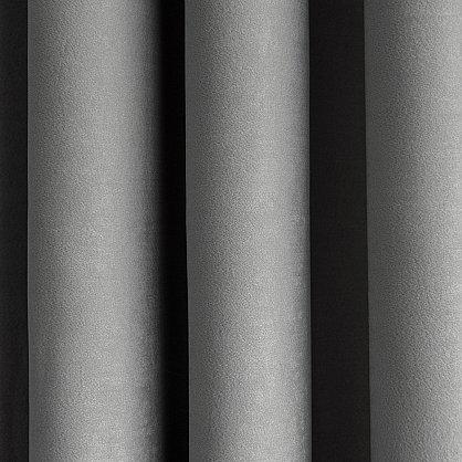 """Комплект штор """"Лисса Серый"""", 220*270 см (ml-100011), фото 3"""