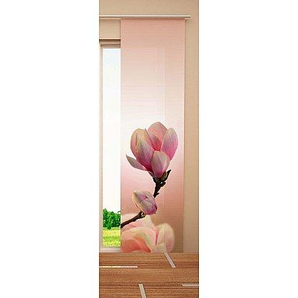 "Японская штора цветная ""Бутон"" (W67-134-240-gr), фото 2"