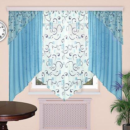 """Комплект штор """"Секрет"""", дизайн 14 (sn-101523), фото 1"""