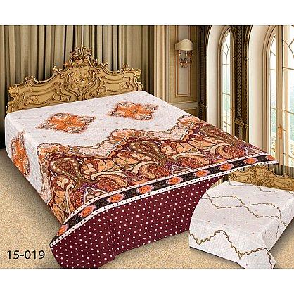 Покрывало Barokko №15-019, белый, золотой (mn-15-019-gr), фото 1