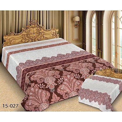 Покрывало Barokko №15-027, белый, розовый (mn-15-027-gr), фото 1