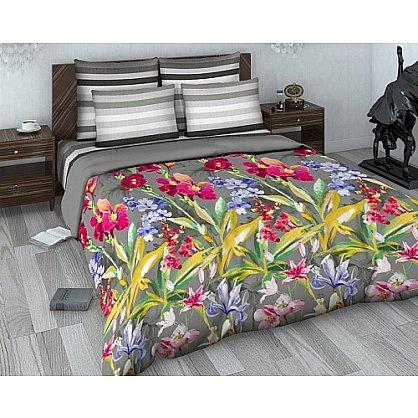 """Комплект постельного белья """"Тропический цветок"""" 1500 (2 спальное) (103844), фото 1"""
