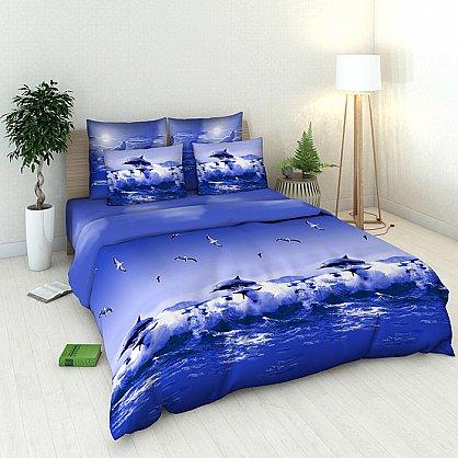 """Комплект постельного белья """"Океан"""" 1511 (евро) (098352), фото 1"""