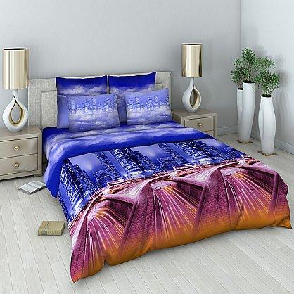 """Комплект постельного белья """"Мегаполис"""" 159 (1.5 спальное) (100205), фото 1"""