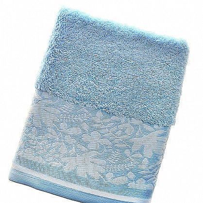 Полотенце Rowan, голубой 70*140 (2000000000602-g), фото 1