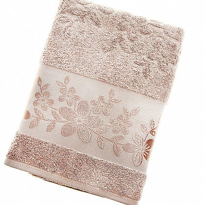 Полотенце Verona, коричневый 70*140 (2000000000213-k), фото 1