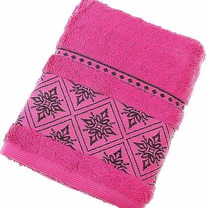 Полотенце Damask, темно-розовый 50*90 (2000000001180-tr), фото 1