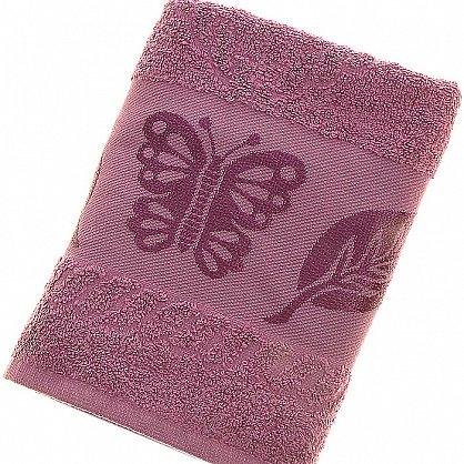Полотенце Cotton Butterfly, слива 50*90 (2000000002125-sl), фото 1