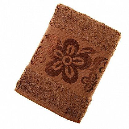 Полотенце Belissimo, коричневый 50*90 (2000000001319-k), фото 1