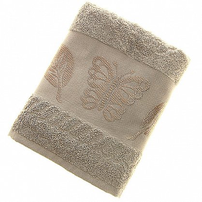 Полотенце Cotton Butterfly, светло-бежевый 50*90 (2000000002125-sb), фото 1