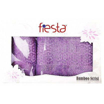 """Набор полотенец """"Milano"""", фиолетовый, 2 шт. (F-milano-fiol), фото 1"""