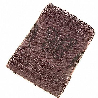 Полотенце Cotton Butterfly, коричневый 50*90 (2000000002125-k), фото 1