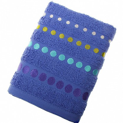 Полотенце Disco, синий 50*90 (2000000000466-sin), фото 1