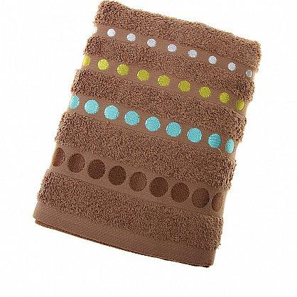 Полотенце Disco, коричневый 50*90 (2000000000466-k), фото 1