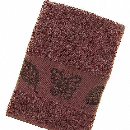 Полотенце Cotton Butterfly, коричневый 70*140 (2000000002149-k), фото 1