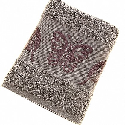 Полотенце Cotton Butterfly, серый 50*90 (2000000002125-s), фото 1