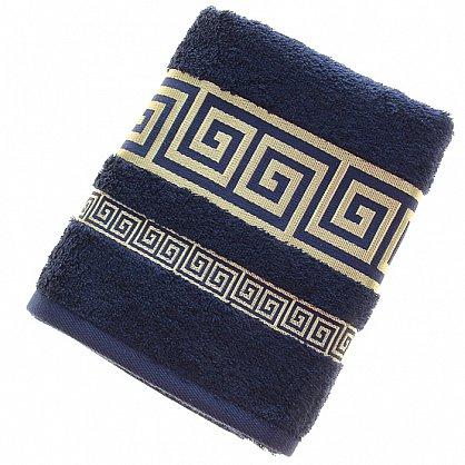 Полотенце Versace, синий 50*90 (2000000001005-sin), фото 1