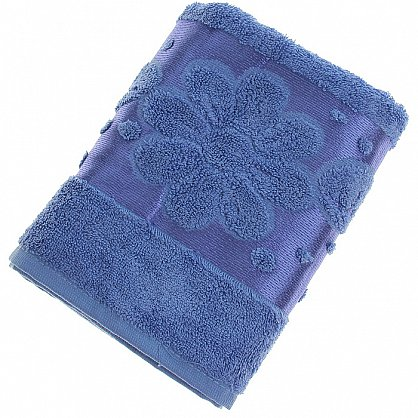 Полотенце Florans, синий 50*90 (2000000001340-sin), фото 1