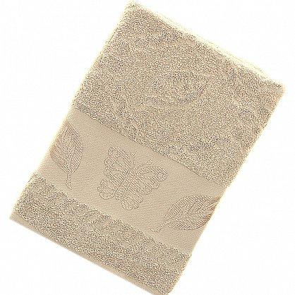 Полотенце Cotton Butterfly, крем 70*140 (2000000002149-kr), фото 1