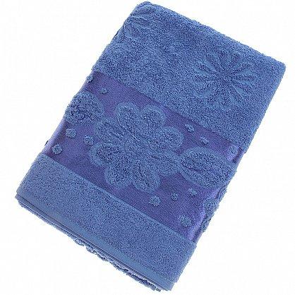 Полотенце Florans, синий 70*140 (2000000001333-sin), фото 1