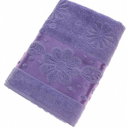 Полотенце Florans, фиолет 70*140 (2000000001333-f), фото 1