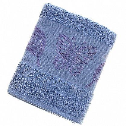 Полотенце Cotton Butterfly, голубой 50*90 (2000000002125-g), фото 1
