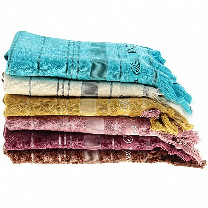 Полотенце Fidan Asyan, коричневый 50*90 (2000000002316-k), фото 2