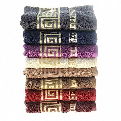 Полотенце Versace, бордо 50*90 (2000000001005-brd), фото 2