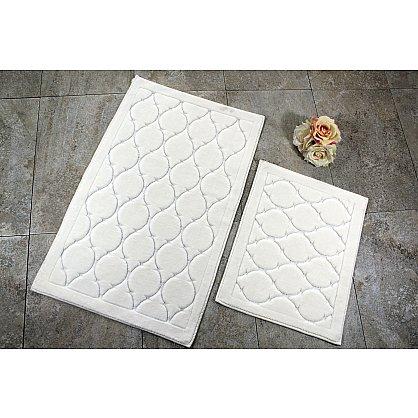 Набор ковриков для ванной DO&CO DANTE (50*60; 60*100), кремовый (mt-103563), фото 1