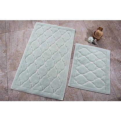 Набор ковриков для ванной DO&CO DANTE (50*60; 60*100), мятный (mt-103564), фото 1