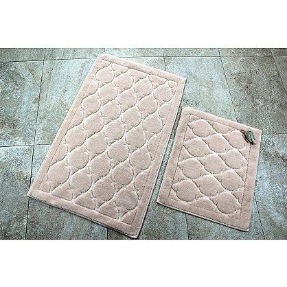 Набор ковриков для ванной DO&CO DANTE (50*60; 60*100), пудра (mt-103565), фото 1