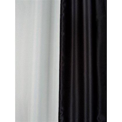 Комплект портьер №026 Черный, Молочный (rt-100149), фото 3