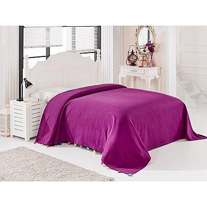 Покрывало DO&CO POP, фиолетовый, 160*220 см (mt-103575), фото 1