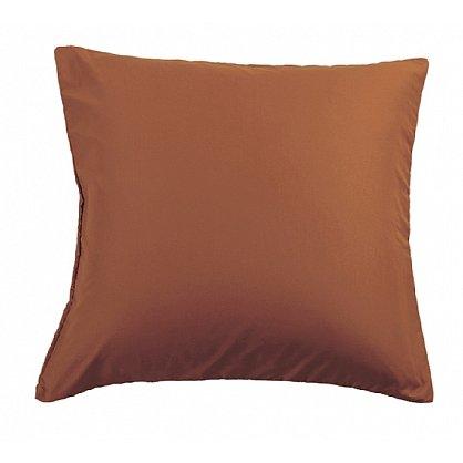 Комплект наволочек сатин, коричневый, 50*70 см-A (NC-04-50-A), фото 1