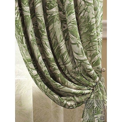 Комплект штор Клэрт (серо-зеленый), 280 см (235415-t), фото 2