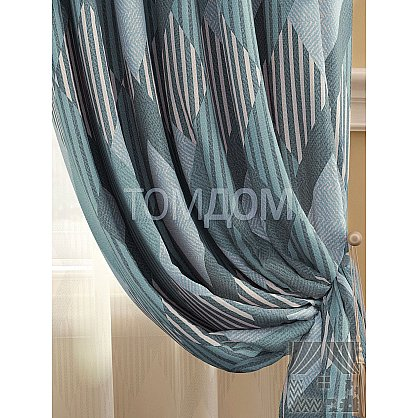 Комплект штор Люсен (серо-голубой), 280 см (235424-t), фото 2