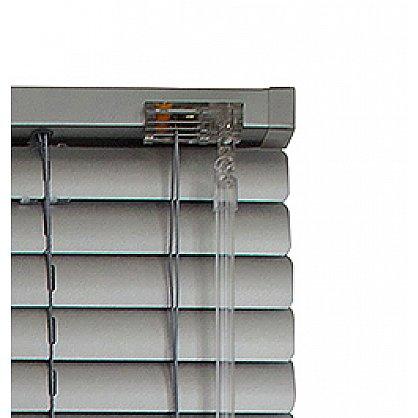 Жалюзи алюминиевые Серебро-брокат, ширина 80 см (ZH-211-080), фото 4
