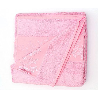 Простынь махровая Verona, розовый (prm-v-ros-gr), фото 1