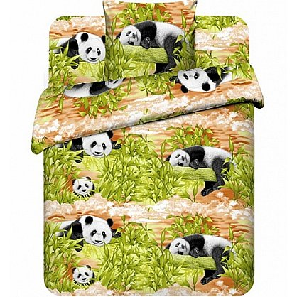 """Комплект постельного белья """"Бамбуковые мишки-2"""" 3999-2 (102184), фото 1"""