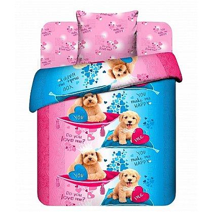 """Комплект постельного белья """"Пушистые друзья-2"""" 4403-2 (103782), фото 1"""