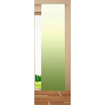"""Японская штора цветная """"Зеленый листок"""" (W67-163-262-gr), фото 3"""